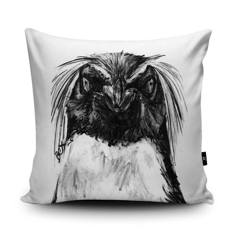 Penguin Cushion by Bex Williams