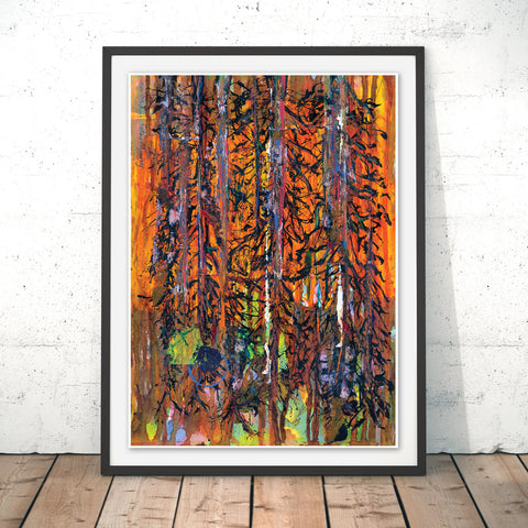 Magic Woodland Original Print by Peter Murray