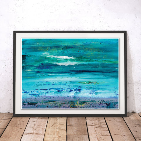 Seascape Original Print by Peter Murray