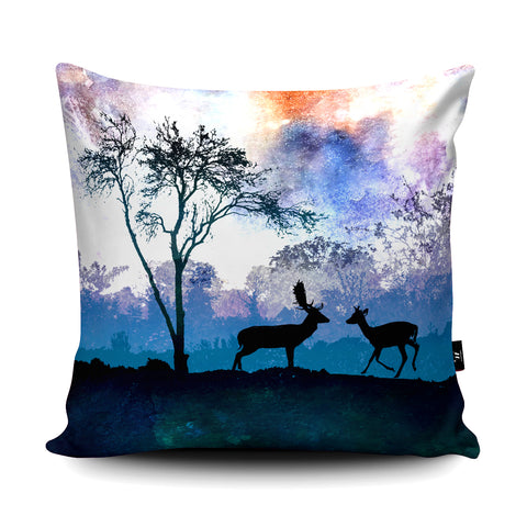 Deer Cushion by Phill Taffs Cushion by Phill Taffs