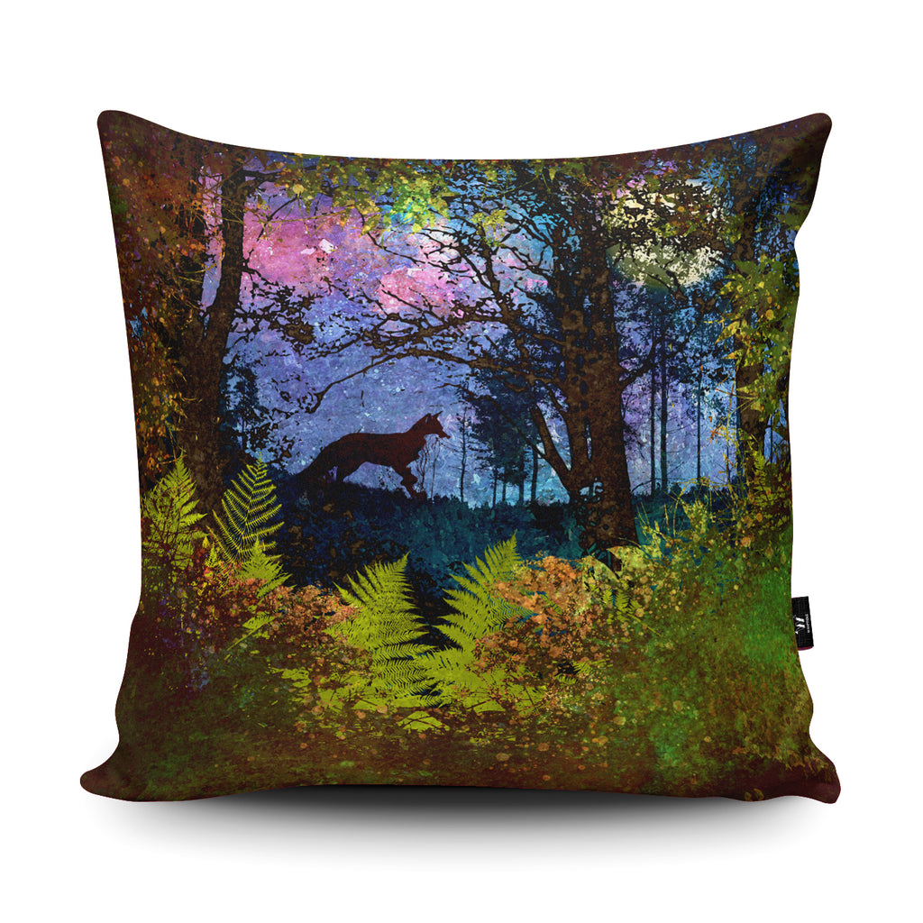 Fox Cushion by Phill Taffs