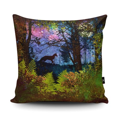 Fox Cushion by Phill Taffs Cushion by Phill Taffs