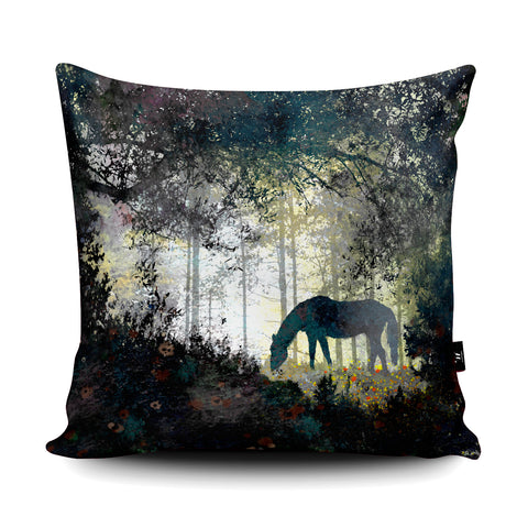 Horse Cushion by Phill Taffs Cushion by Phill Taffs