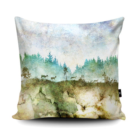 Natural Beauty Cushion by Phill Taffs