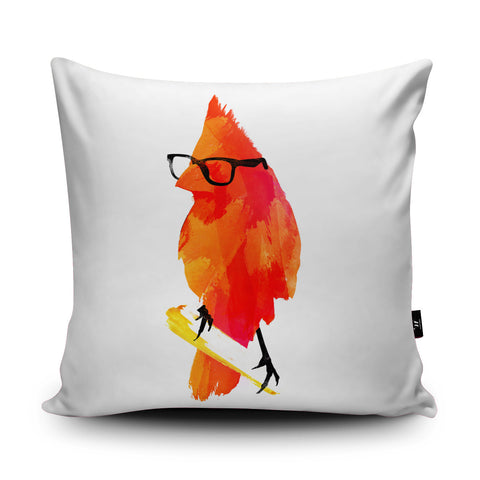Punk Birdy Cushion by Robert Farkas