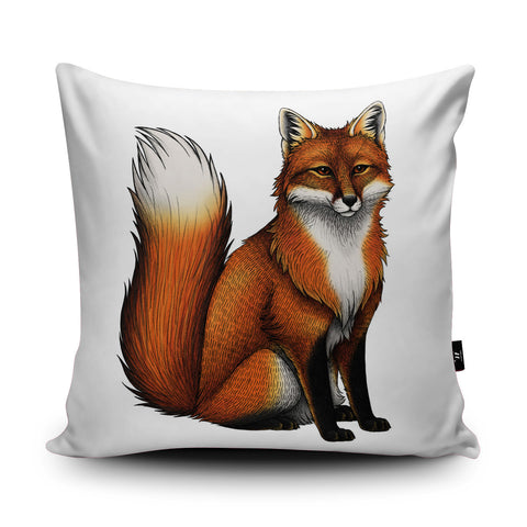 Red Fox Cushion by Lyndsey Green