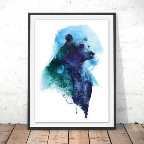Best Friends Forever Original Print by Robert Farkas