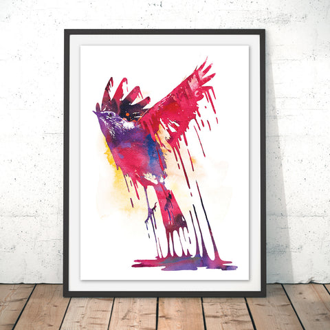 Great Emergence Original Print by Robert Farkas