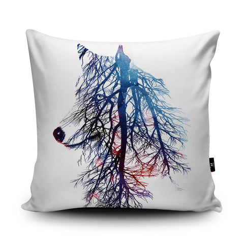 My Roots Cushion by Robert Farkas