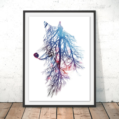 My Roots Original Print by Robert Farkas