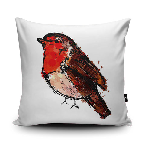 Robin Cushion by Louise Whitmore