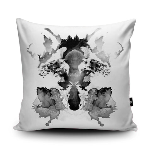 Rorschach Cushion by Robert Farkas