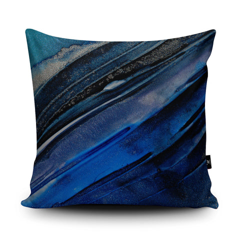Oceanic Cushion by Rosalind Dando