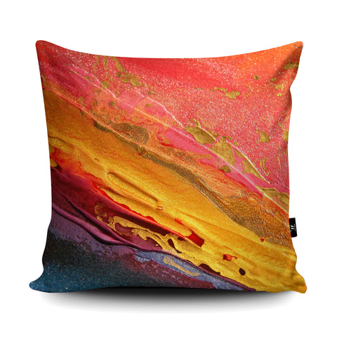 Carnival Cushion by Rosalind Dando