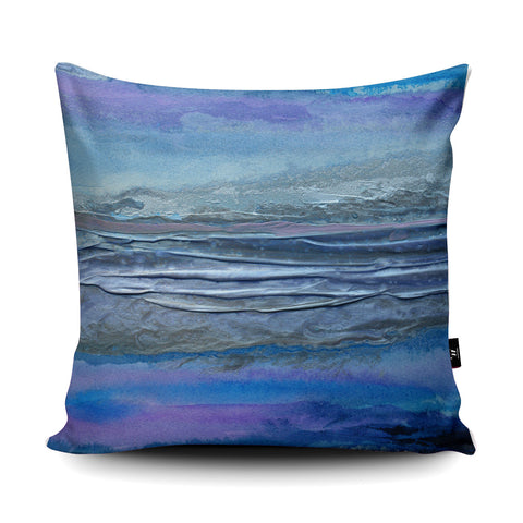 Jokulsarlon Cushion by Rosalind Dando
