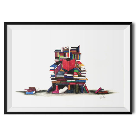 The Reader Original Print by Rosalind Dando