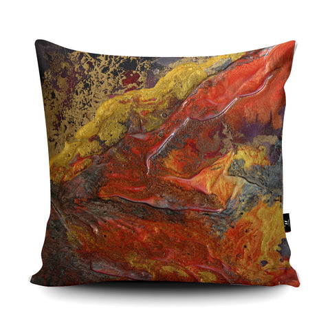 Volcanic Cushion by Rosalind Dando