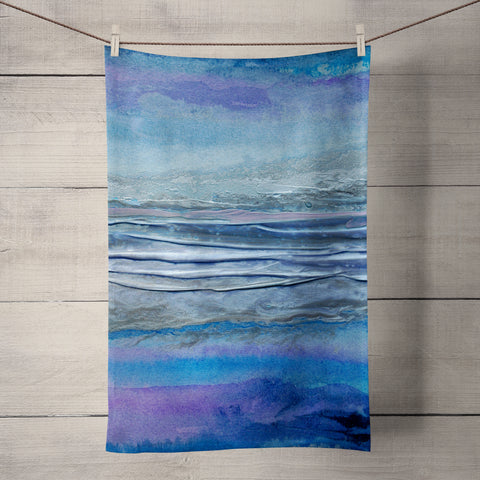 Jokulsarlon Tea Towel by Rosalind Dando