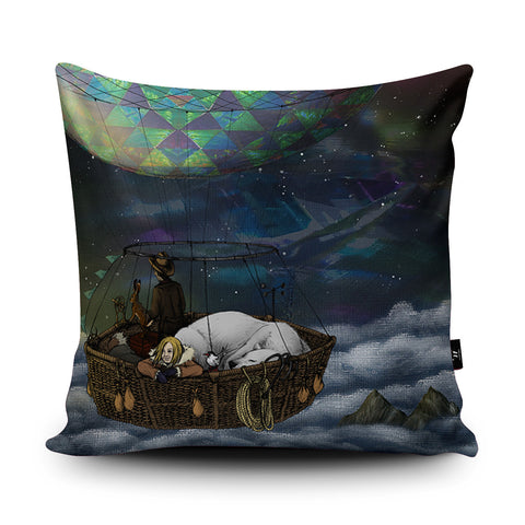 Scoresby's Balloon Cushion by Lyndsey Green