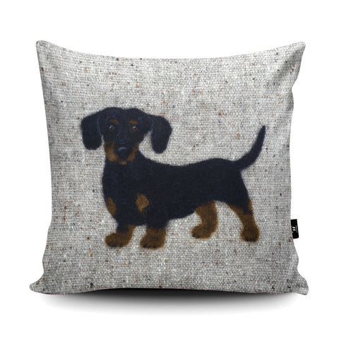 Dachshund Cushion by Sharon Salt