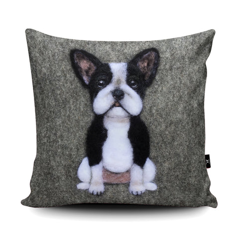 Frenchie Cushion by Sharon Salt