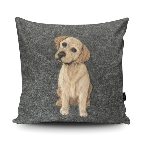 Labrador Cushion by Sharon Salt