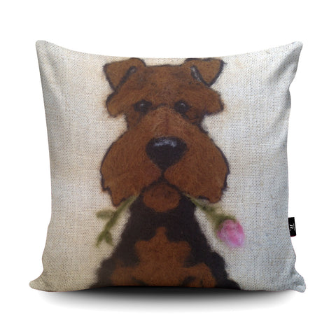 Picked You Cushion by Sharon Salt