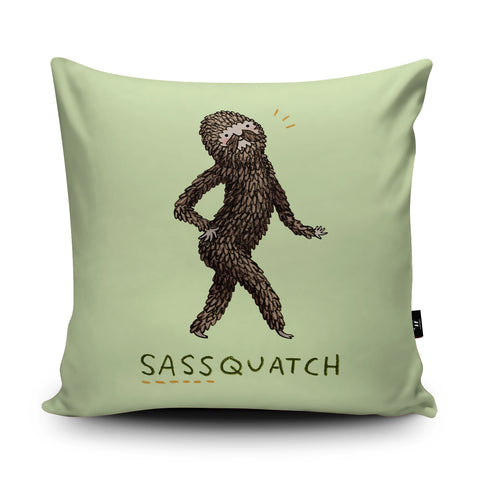 Sassquatch Cushion by Sophie Corrigan