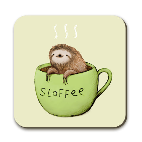 Sloffee Coaster by Sophie Corrigan