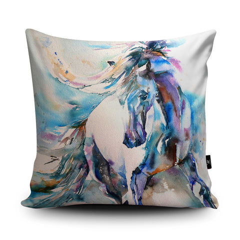 Spanish Horse Cushion by Liz Chaderton