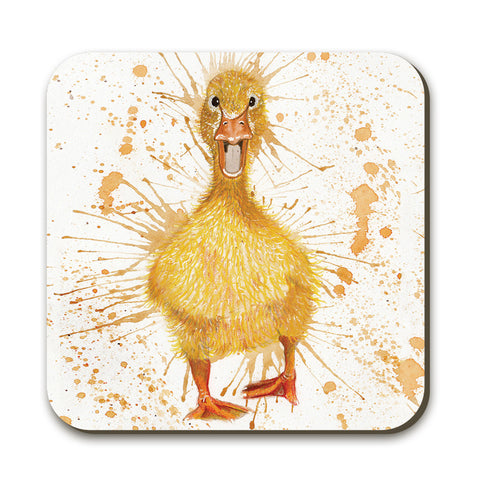 Splatter Duck Coaster by Katherine Williams