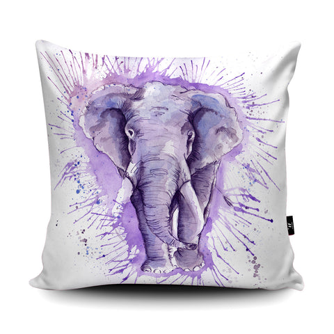 Splatter Elephant Cushion by Katherine Williams