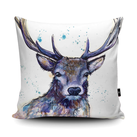 Splatter Hart Cushion by Katherine Williams