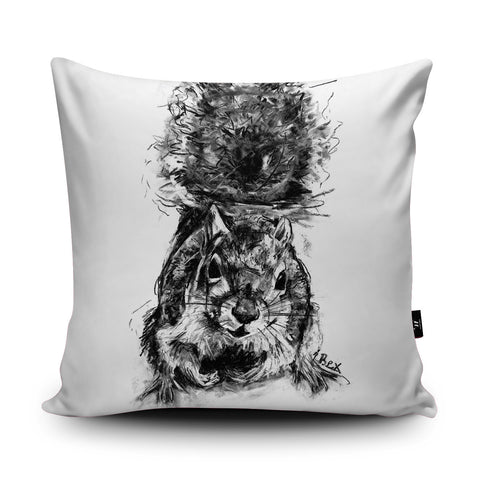 Squirrel Cushion by Bex Williams
