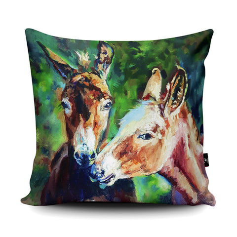 Cheeky Faces Cushion by Sue Gardner