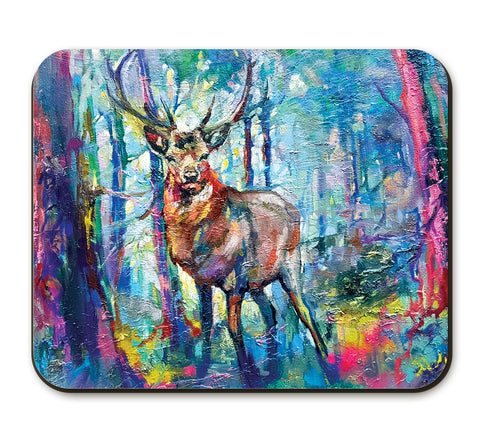 Mystic Stag Placemat by Sue Gardner
