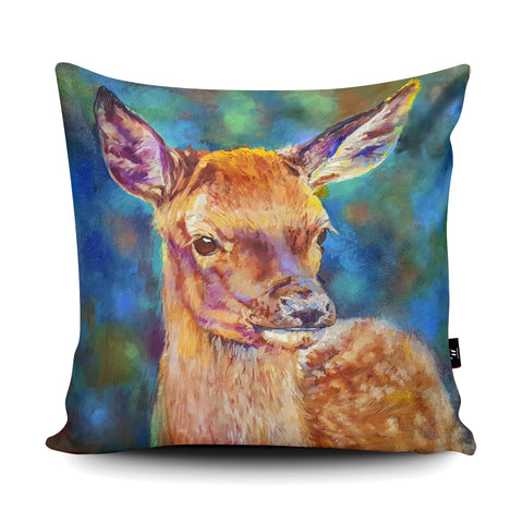 Woodland Princess Cushion by Sue Gardner