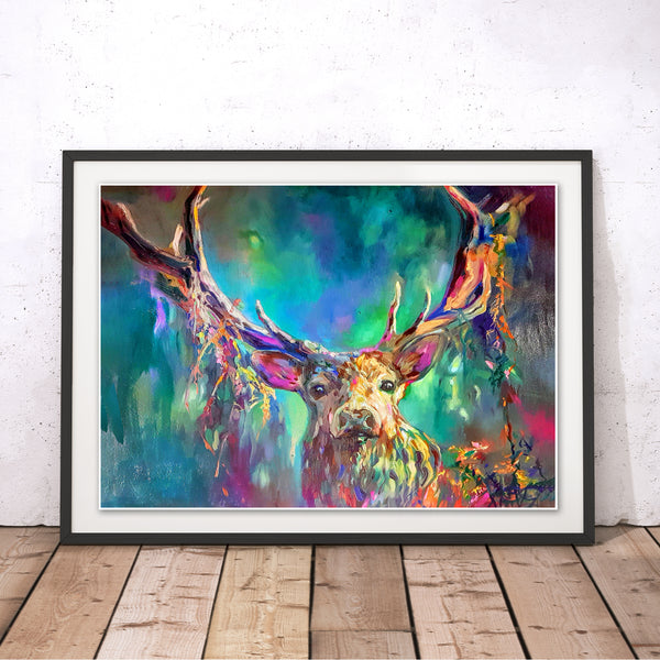 Woodland Stag