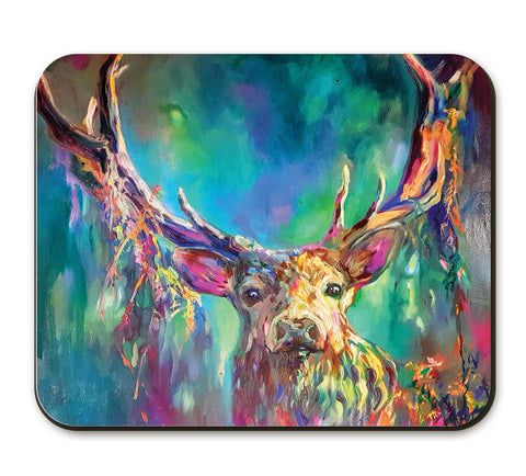 Woodland Stag Placemat by Sue Gardner