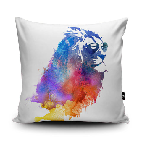 Sunny Leo Cushion by Robert Farkas