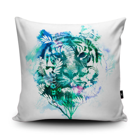 Tiger Tree Cushion by Robert Farkas