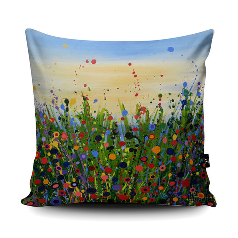 Enchanted Summer Cushion by Tracey Cooper