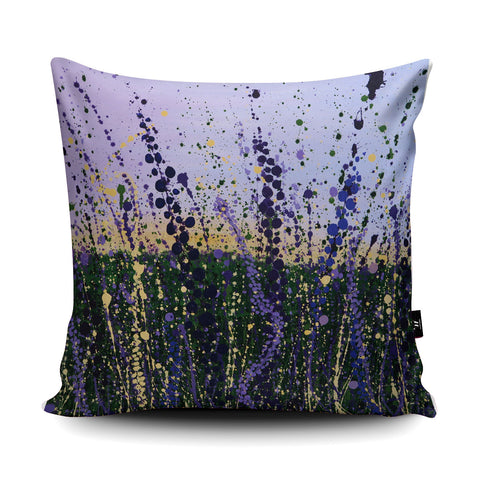 Wild Lilac Cushion by Tracey Cooper