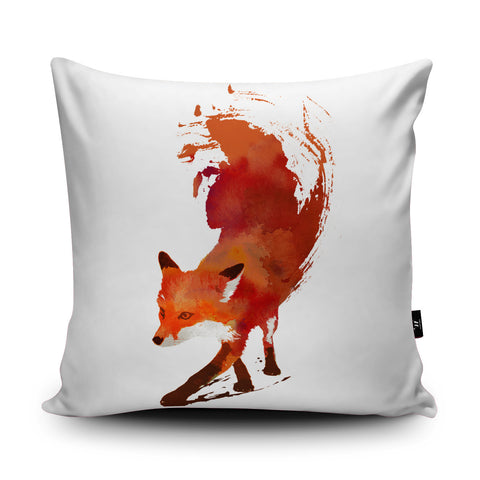 Vulpes Vulpes Cushion by Robert Farkas