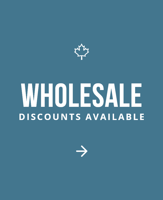 Wholesale discounts available