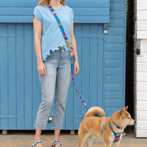 Inca Blue Hands free Lead - [Holler Brighton]