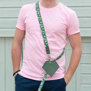 Green & Pink Combs Hands free Lead - Holler Brighton