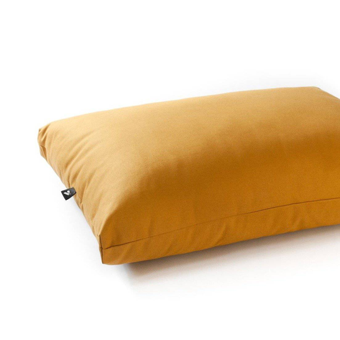 Mustard - Cotton Canvas box bed - Holler Brighton