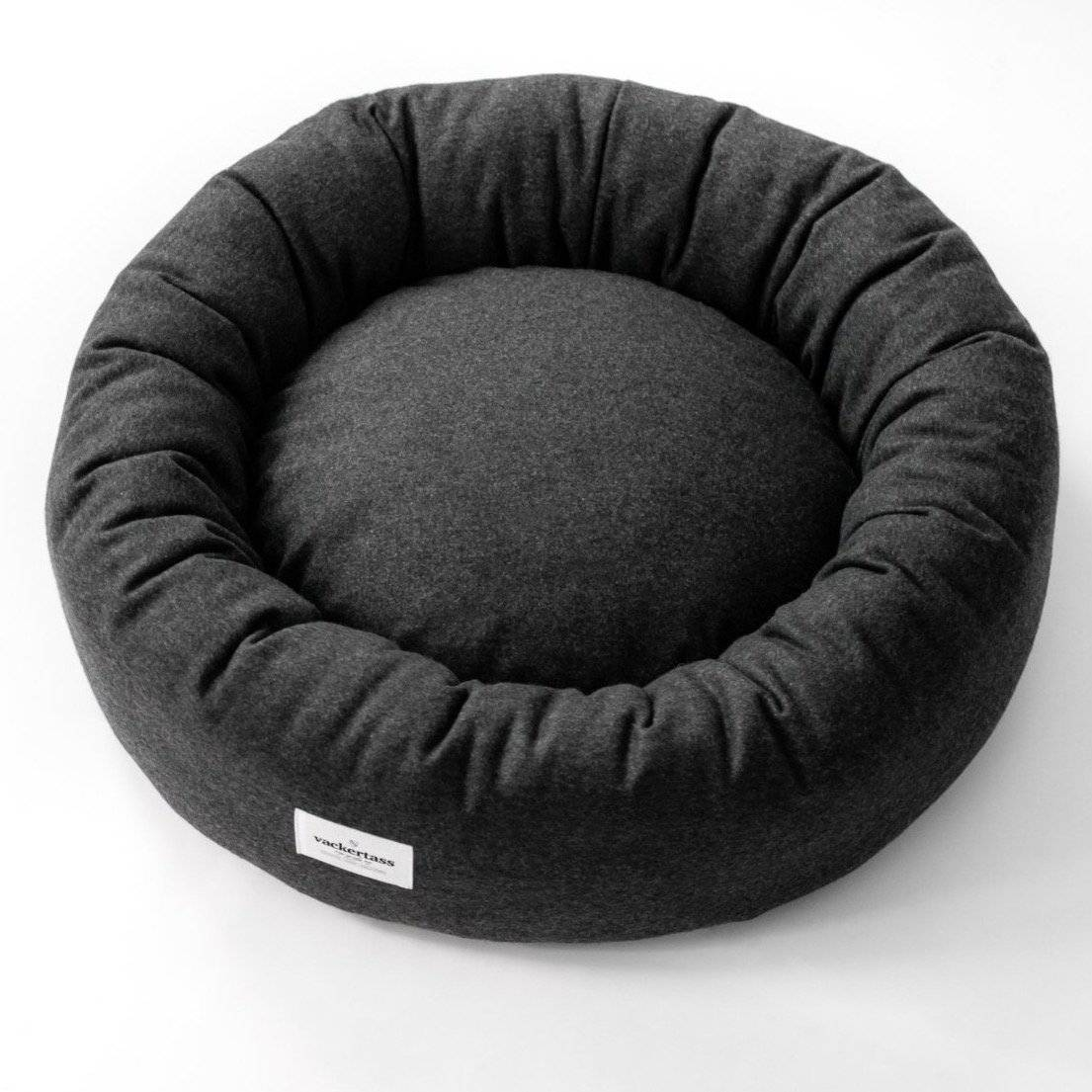 Anthracite - Italian Melton Wool Halo Bed - [Holler Brighton]