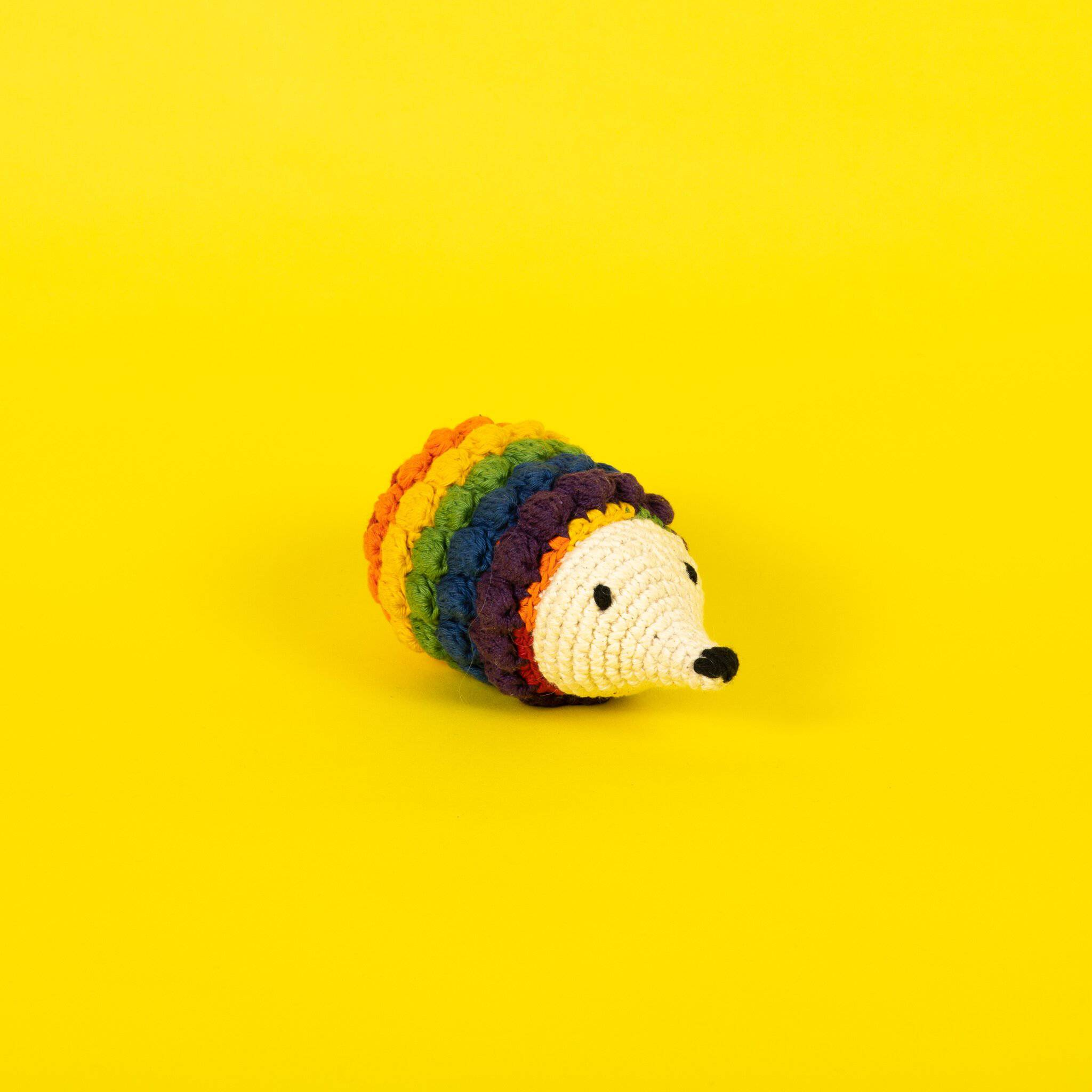Hedgehog Crochet Toy - Holler Brighton
